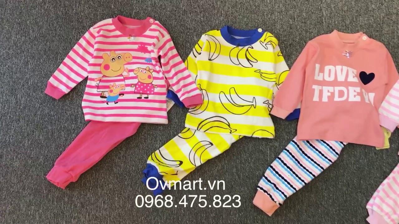 Bộ quần áo dài tay cực yêu cho bé mặc mùa Đông - S351 - Quần áo trẻ em