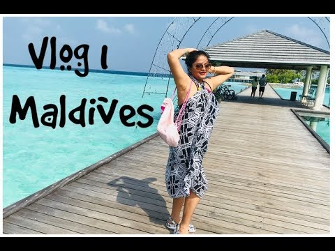 Maldives || Vlog 1|| Villa Tour || Sun Island Resort