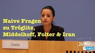 Naive Fragen zu Tröglitz, Middelhoff, Folter & Iran