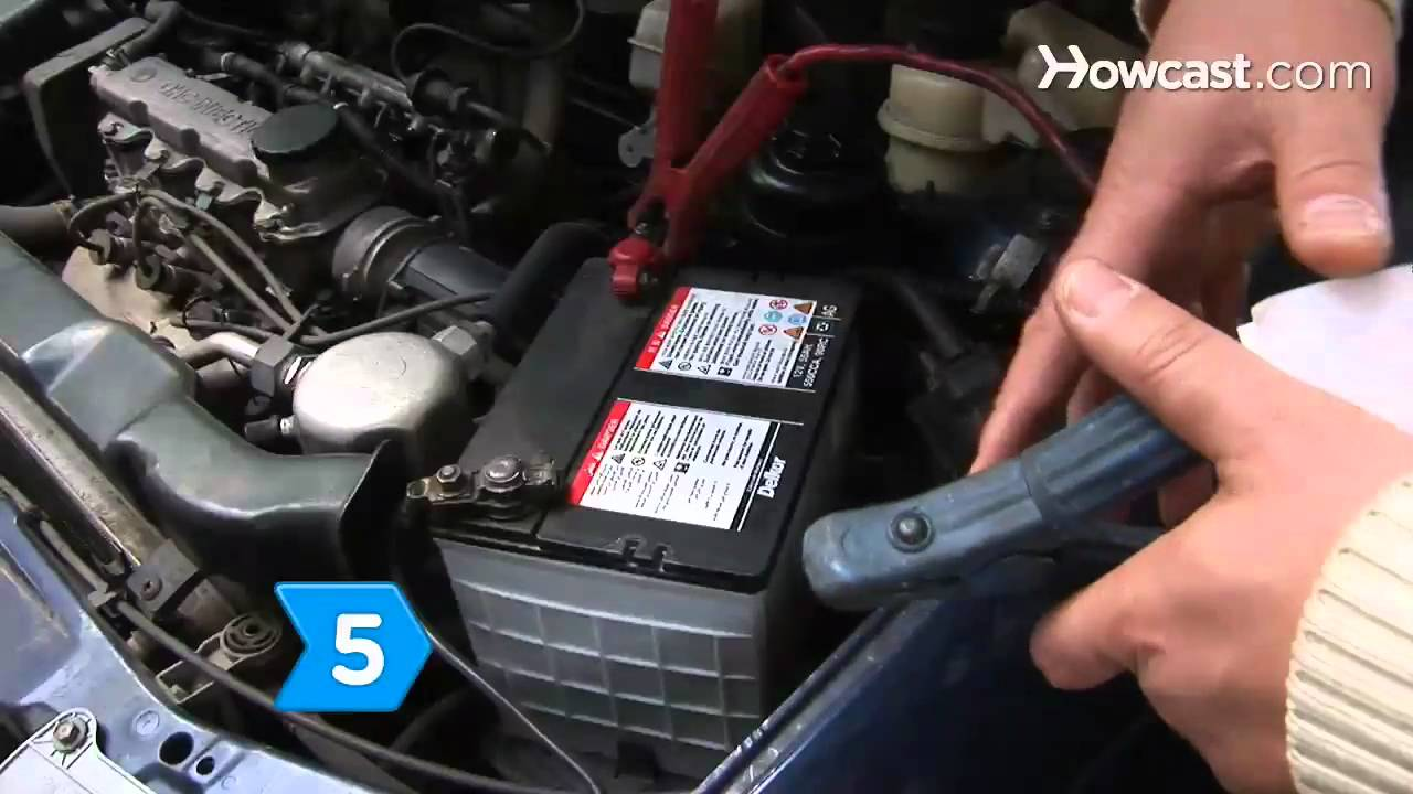 How To Use A Portable Car Battery Charger Youtube