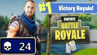LosPollosTv 24 Fortnite Squad Kill Win (Ft. Mopi, OVO, & Kobe0802)