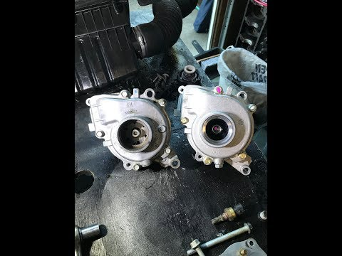 2007 2.4L Chevy HHR Water Pump Replacement