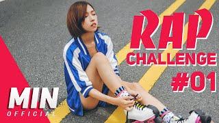Min's Rap Challenge #1 | Whistle - BlackPink | Lisa's Part