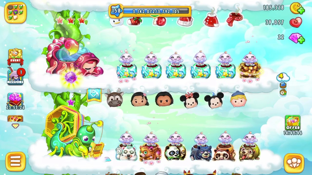 [ FREE SKY GARDEN GAME MOBILE 2018 ] HIỆU ỨNG CÁC COMBO CHẬU – THE EFFECT OF NEW POTS SYSTEM RANK
