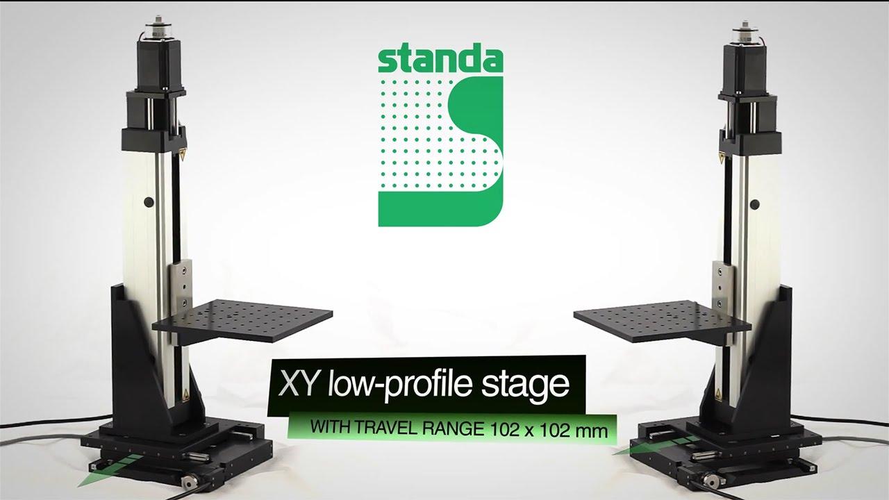 Xyz Motorized Translation Stage Youtube
