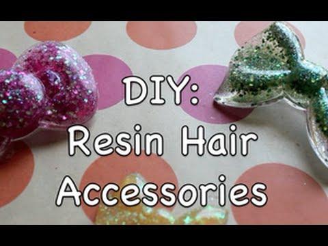Resin Hair Accessories