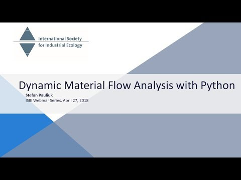 Dynamic Material Flow Analysis with Python