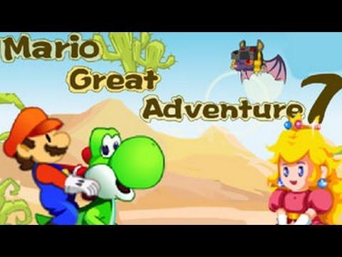 Mario Great Adventure 7 Walkthrough Level 1-5