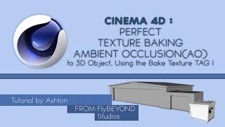 Cinema 4D Eğitimi |Mükemmel Doku Pişirme AO Oyun için Varlıklar