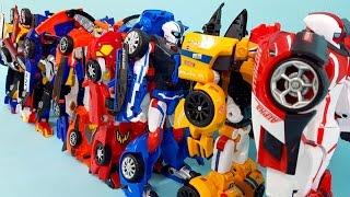 헬로카봇삼총사 또봇애슬론삼총사 싼타페에이스삼총사 변신 모임결성 자동차장난감 동영상 HelloCarBot ToBot CarToys Trio Series Transformation