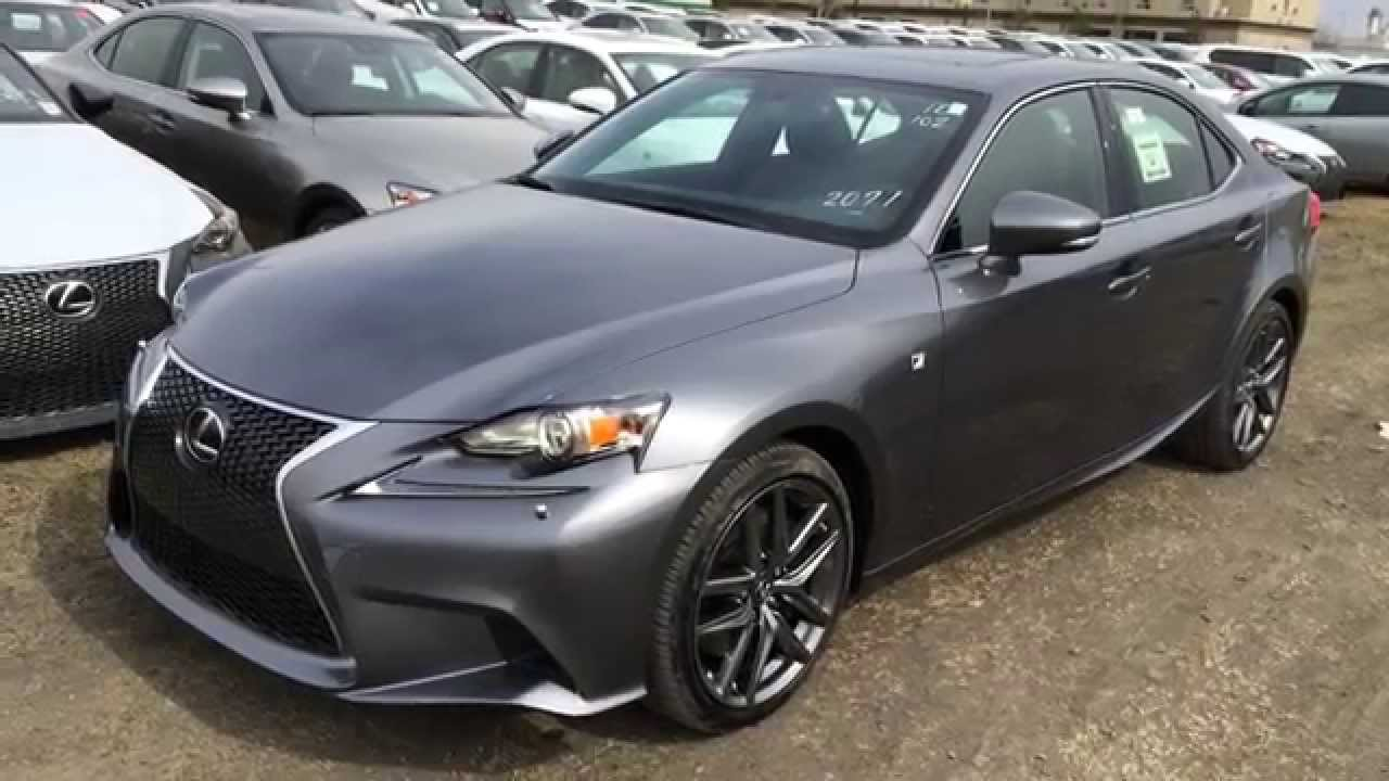 new grey 2015 lexus is 350 4dr sdn awd f sport series 2. Black Bedroom Furniture Sets. Home Design Ideas