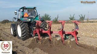 praca cignika arbos 110 km w polu traktor u rolnika