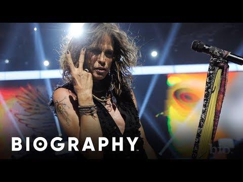 Steven Tyler - Frontman of Aerosmith & Rock Superstar | Mini Bio | BIO