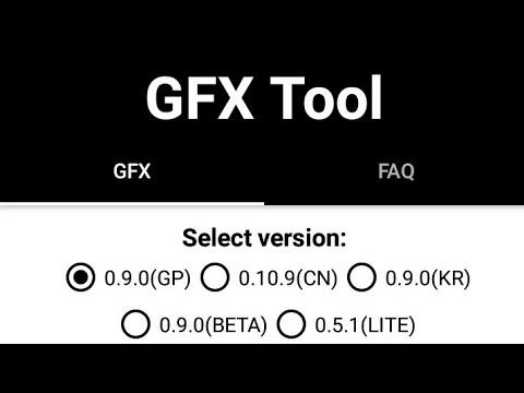 SETTING TERBARU GFX TOOL 0 9 0 PUBG MOBILE