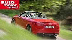 Fahrbericht Audi TT Roadster