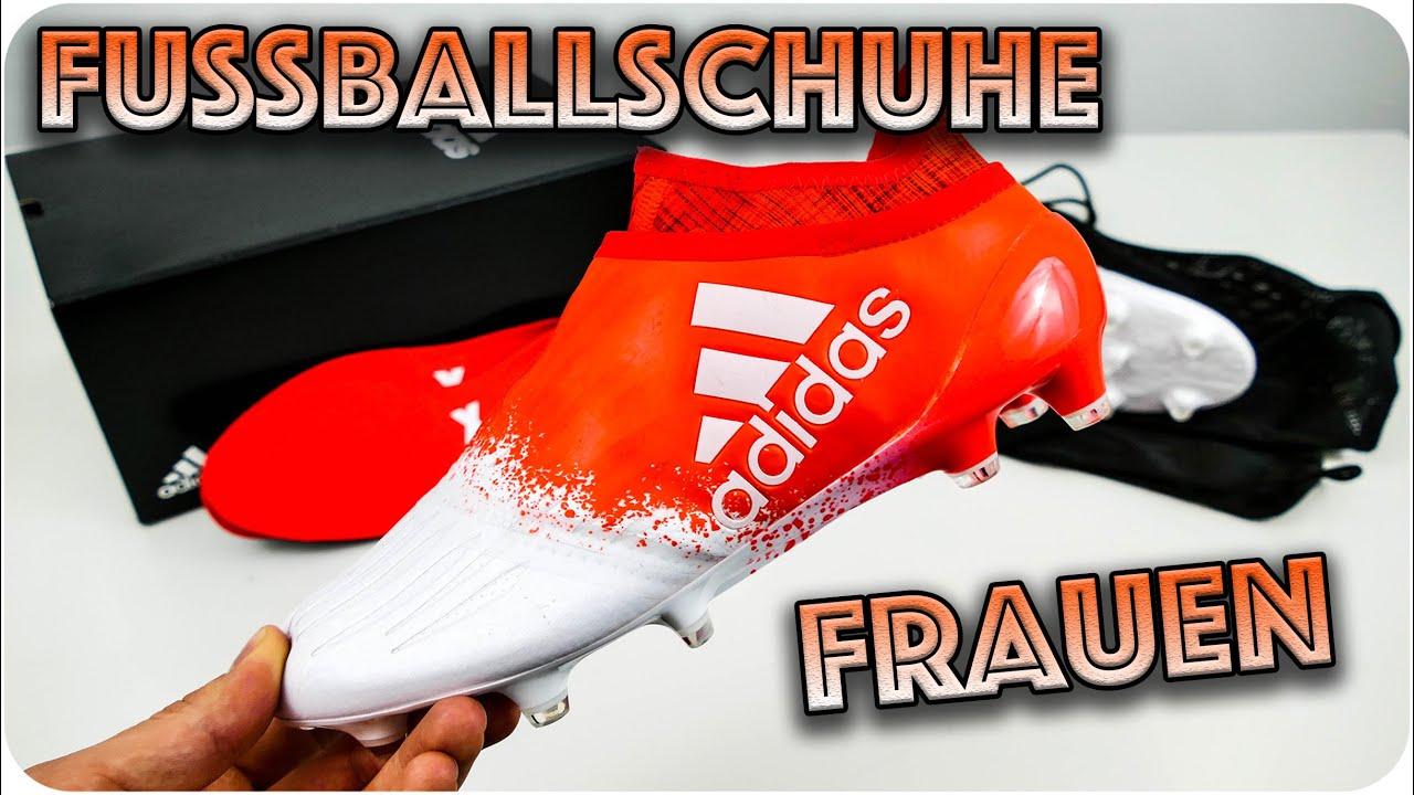 WOMEN FOOTBALL BOOT  ADIDAS X16+ PURECHAOS - YouTube c57c953555