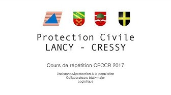 PROTECTION CIVILE Lancy-Cressy - CPCCR (2017)
