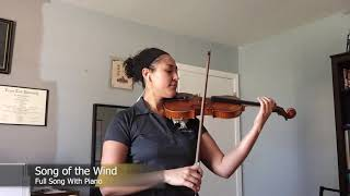 06  Song of the Wind   Full Song With Piano