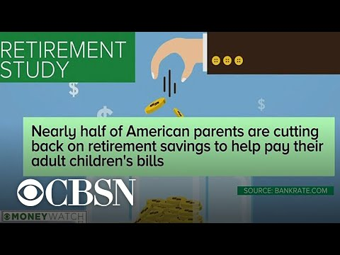 Some adult children are putting their parents' retirement at risk