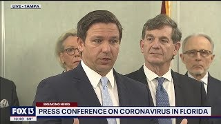 Full press conference: Florida's first coronavirus COVID-19 cases