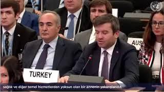 Yavuz Selim KIRAN BM Mülteciler Yüksek Komiserliğinin 70  İcra Komitesi marjındaki Vatansızlık Oturu