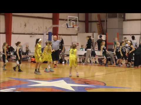 Nebraska Lasers Gold 4th vs Lady Cats Black 4th  February 25, 2017