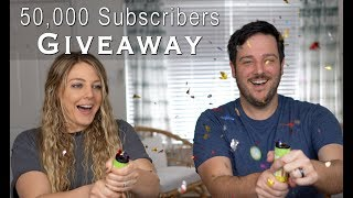 Celebrating 50,000 Subscribers With a Giveaway (Ended)