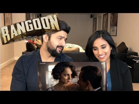 Rangoon Trailer Reaction   Shahid, Saif, Kangna   Official Trailer