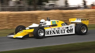 1979 Renault RS10 F1 Twin-Turbo V6 Sound: The first turbocharged F1 car to win a GP