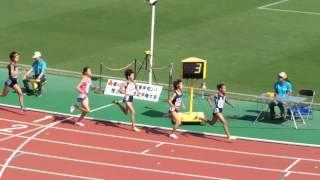 2015年度近畿ユース陸上 女子1年1500m決勝