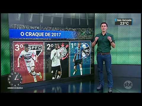 Bloco de esportes :SBT Notícias 22.12.2017