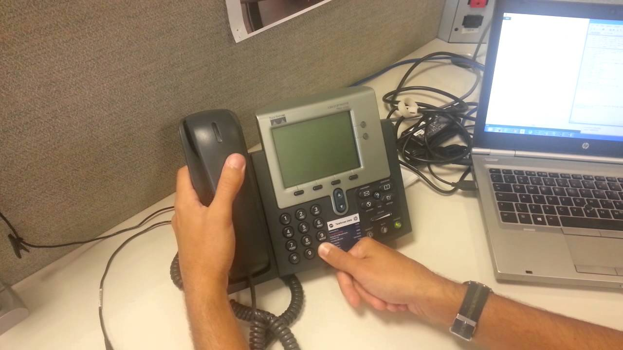 HOW RESET A CISCO IP PHONE 7941