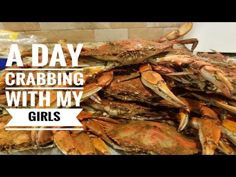 Blue Claw Crabs...Crabbing Oceanic Marina  In NJ, Aug. 15, 2018