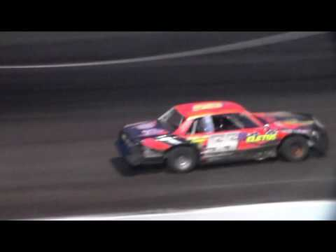 Hobby Stock Heat 2 @ Hancock County Speedway 06/27/17