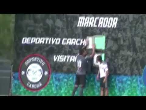 La celebración viral del Deportivo Carchá