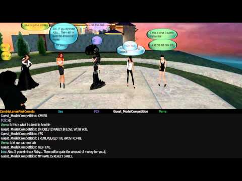 IMVU's Next Top Model Cycle 5 Episode 7 Part 1
