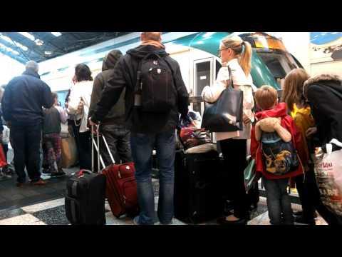 Ireland, Galway train station - train to Dublin