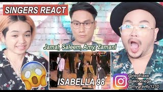 Download Mp3 Isabella 98  Jamal, Saleem, Amy, Zamani Sukom  1998  Singers React