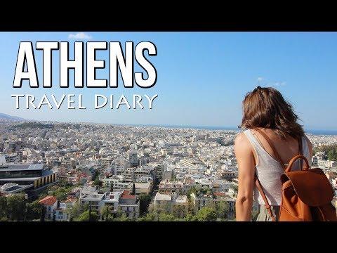Athens Greece || Travel Vlog
