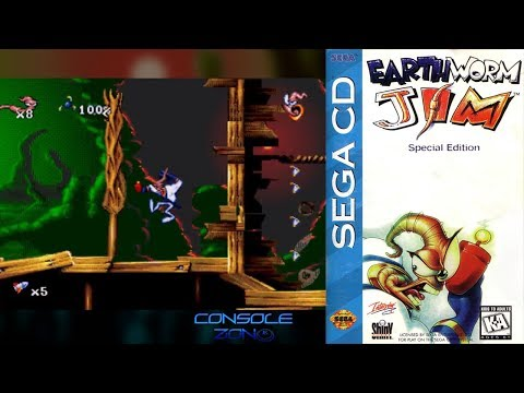 Earthworm Jim: Special Edition (Sega CD) - прохождение игры