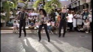 "LaToya Jackson performing ""Such A Wicked Love"" in 1989"