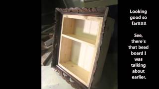 Awesome Dyi - Re Purposed Picture Frame To Shadow Box!!!!! - Mckeydesigns