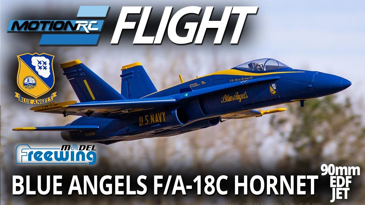 Freewing F/A-18C Hornet 90mm EDF Jet - Flight Review - Motion RC