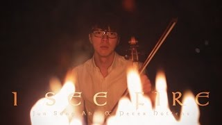 Repeat youtube video Ed Sheeran - I See Fire - The Hobbit - Jun Sung Ahn & Peter Hollens Cover