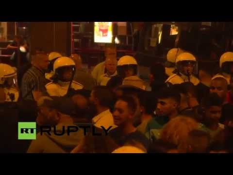LIVE: Tensions high in The Hague after three nights of unrest