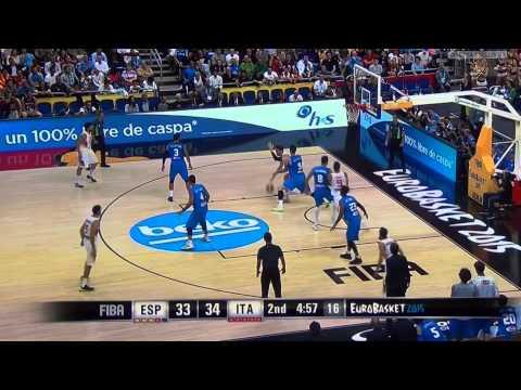 Andrea Bargnani - Italia Vs Spagna 8-9-2015 - Eurobasket 2015