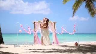 Свадебная церемония на острове Саона (Доминикана)(Организация свадебных церемония с вниманием к деталям и безупречным сервисом - http://wedding.2banana.com., 2016-09-25T11:23:56.000Z)