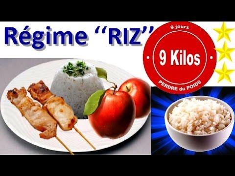 r gime riz perdre 9 kg avec du riz du poulet et des pommes youtube. Black Bedroom Furniture Sets. Home Design Ideas