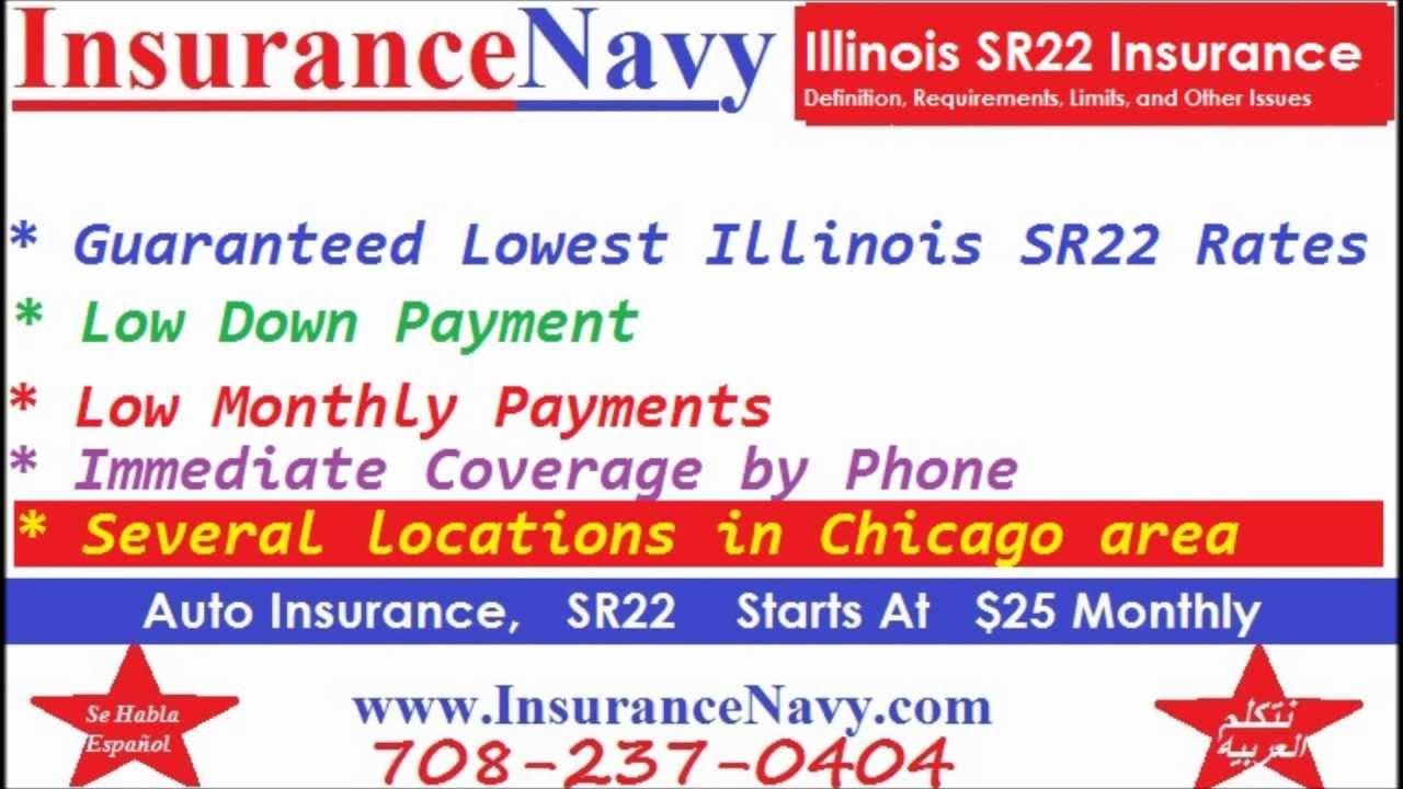 Illinois SR22 Insurance Quotes - YouTube