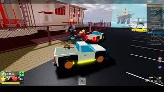 Детские игры Roblox Безумный город Бесплатная машина грабим большой сейф